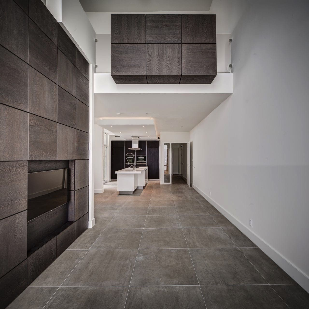 Luxe hal in stijlvol appartement