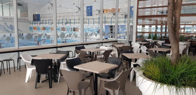 maatwerk interieur restaurant zwembad